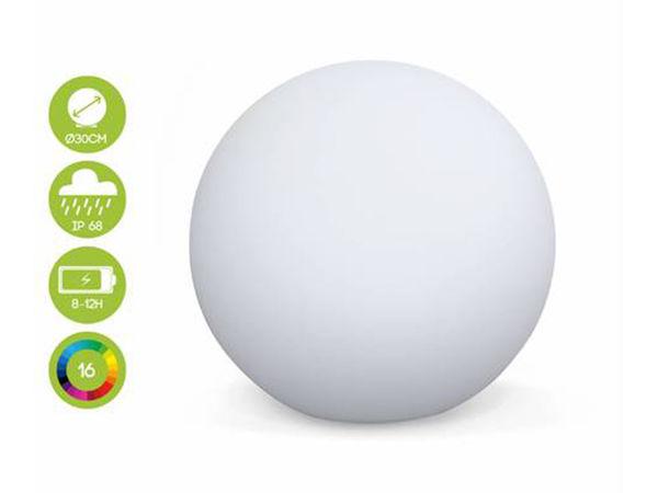 Boule à leds autonome solaires 30 cm