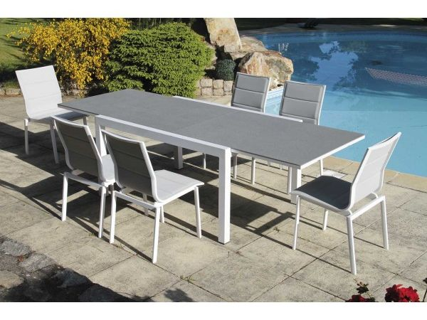 Ensemble Evian (1 table + 6 chaises)