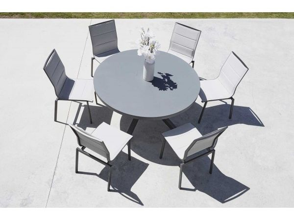 Ensemble Provence (1 table ronde + 6 chaises)