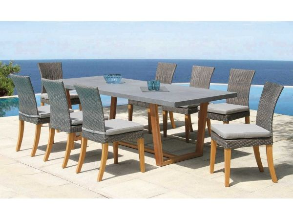 Ensemble Newport (1 table + 6 chaises)